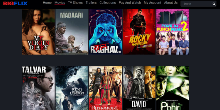 BIGFlix Tamil Movies