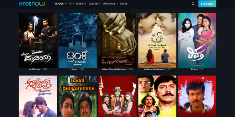 Erosnow - Watch & download Kannada movies in HD